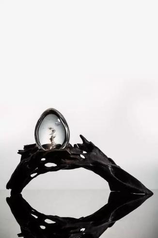 水晶幻境摆件   规格:4.7×3.6×2.6cm 54g