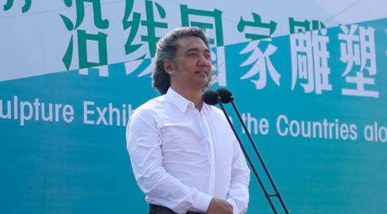 展览学术主持、中国美术馆馆长 吴为山致辞