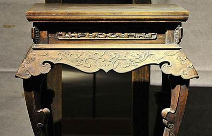 传统文化与红木家具:体现天圆地方的思想