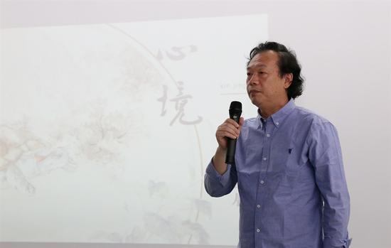 学术主持:刘临先生致辞