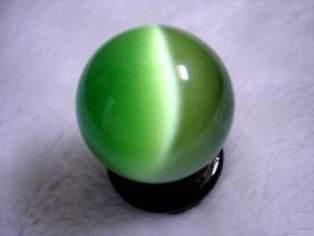 无价珍宝:金绿猫眼石