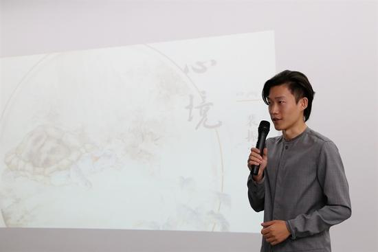 艺术家裴振宇先生致辞