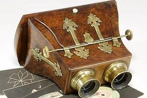 """170年前的""""VR头显"""" 拍卖成交价有望达3000英镑"""