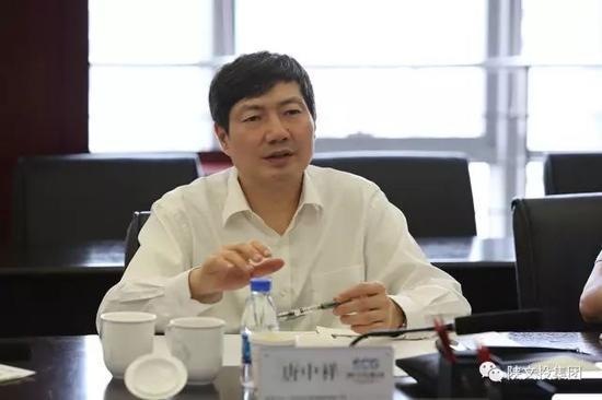 浙江省委宣传部副部长唐中祥介绍浙江文化产业发展情况