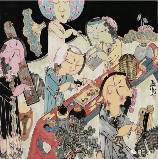 《花开月正圆》赵锦龙水墨将于9月23日开展