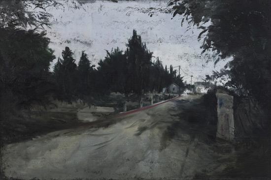 刘永康 《间断的出入》 布面油画 80x120cm 2014