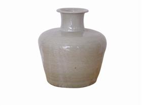 元青釉刻花瓷瓶