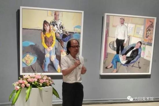 中国国家画院副院长、评论家张晓凌先生