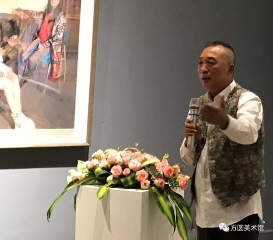 中国美术学院绘画艺术学院院长、教授杨参军先生