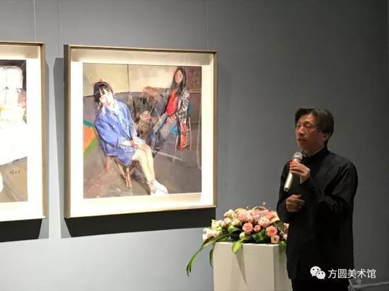 中国美术家协会副主席、中央美术学院院长笵迪安先生