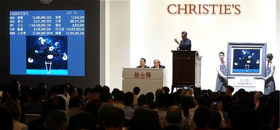 从纽约到上海 苏富比佳士得角力中国艺术品市场