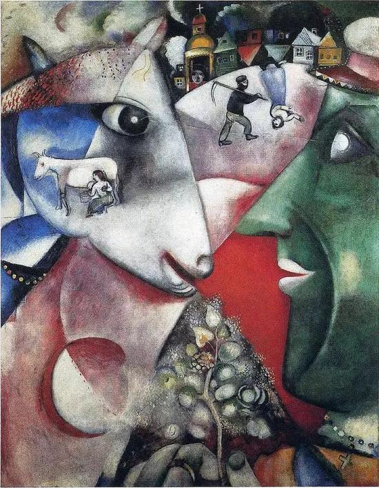 Marc Chagall - 我和我的村庄