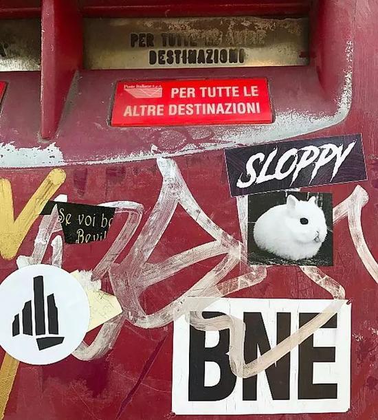 在古典艺术之都相遇叛逆街头艺术