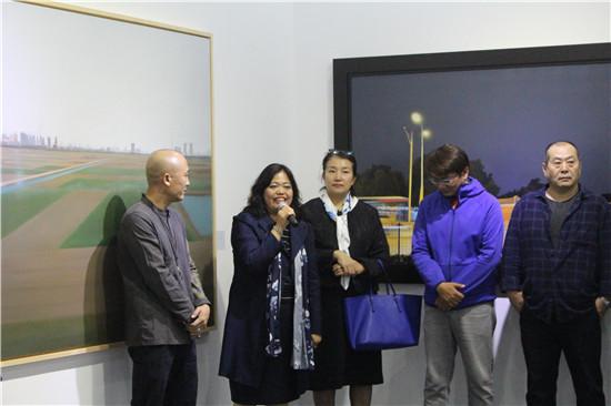 第零艺术空间总裁王海英女士开幕致辞