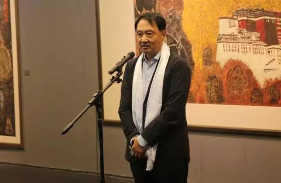 全国政协常委、中国美协副主席、北京画院院长王明明先生致辞