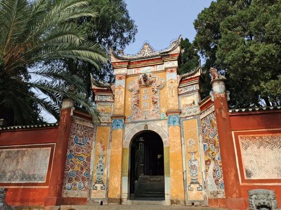 白帝城是三峡历史文化名城