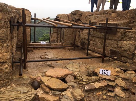 白帝城考古新发现遗迹20处
