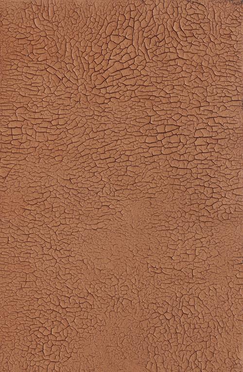 《无迹》木板大漆、泥土 80X122cm 2017