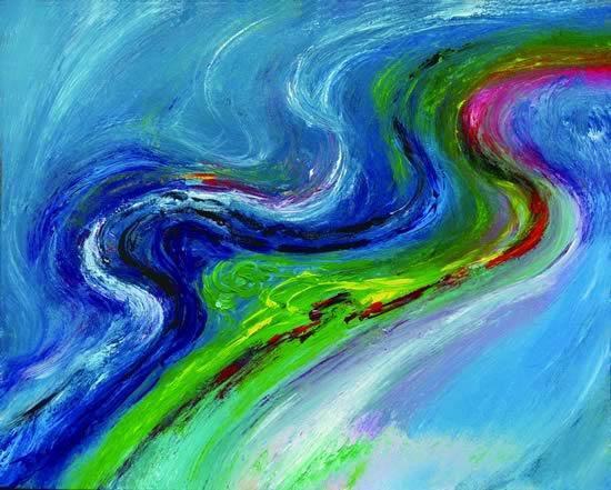 六色声波 Six Colors Sound 75x61cm