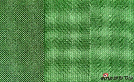 布面作品 十示2001-8 成品布上丙烯 260 x 390 cm