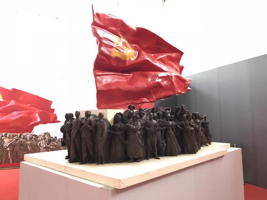 北京市《旗帜》 李象群