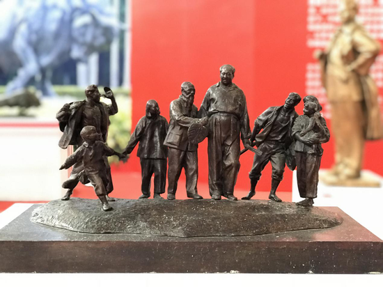 湘潭市《乡情》 中国美院雕塑系
