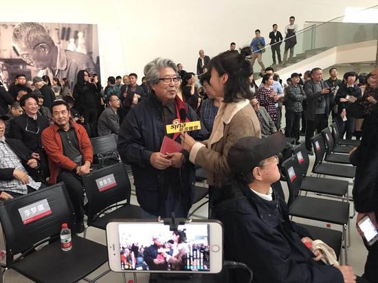 中央美院教授 /雕塑家 曹春生 接受采访