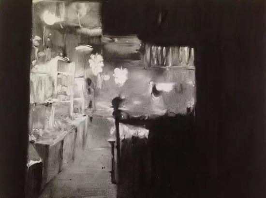 都市系列之七,孔亮,版画,2013