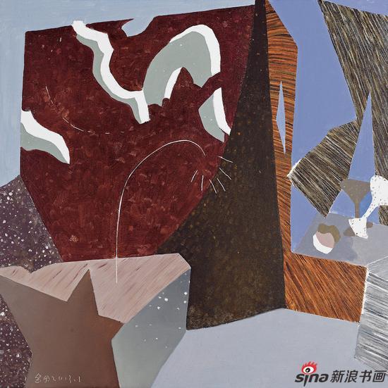 《温暖的和声》100cm×100cm 布面油画 2013