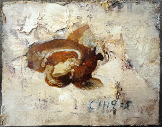 考古CIH9.5,魏言,布面油画,40×50cm,2016