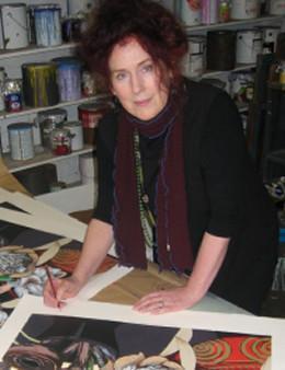 澳大利画家科律丝坎宁画家痴迷画画50年