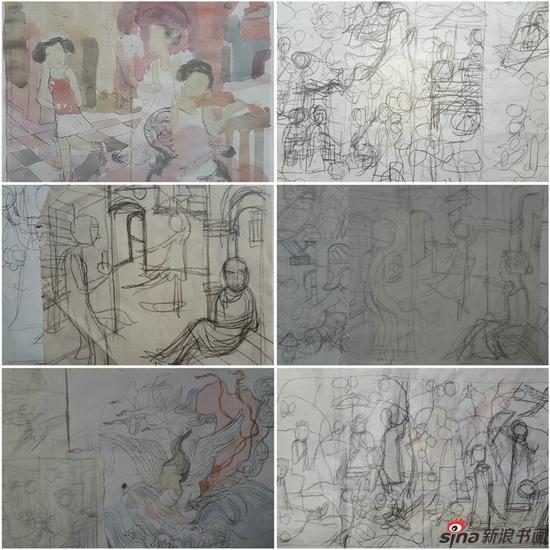 马小娟作品-创作手稿 之三
