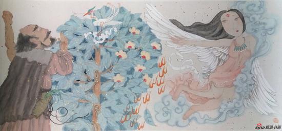 马小娟作品-中华神话-连环画绘本系列之一 53x33cm 2016年
