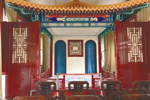 沈阳故宫古建筑展对外开放 皇帝书房引人注目