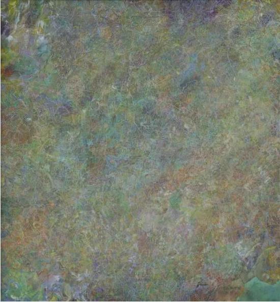 王远《网上物》布上油画