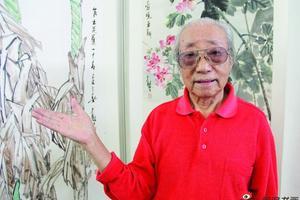 苏州92岁老画家自掏万元 请小区百名老人吃重阳宴