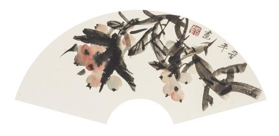 徐晋平《硕果图》