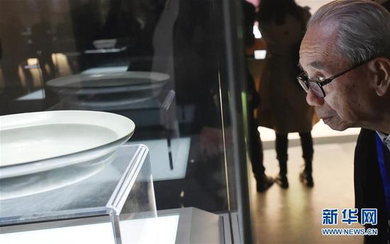清凉寺汝窑博物馆开馆 20余种汝瓷器型首次露面