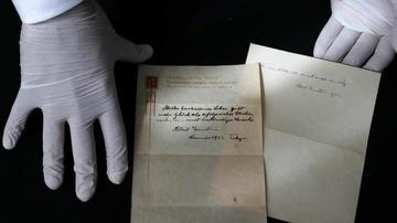 爱因斯坦幸福生活理论手写笔记将拍卖