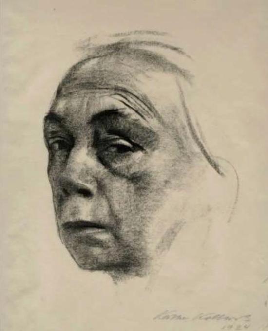 自画像,1924