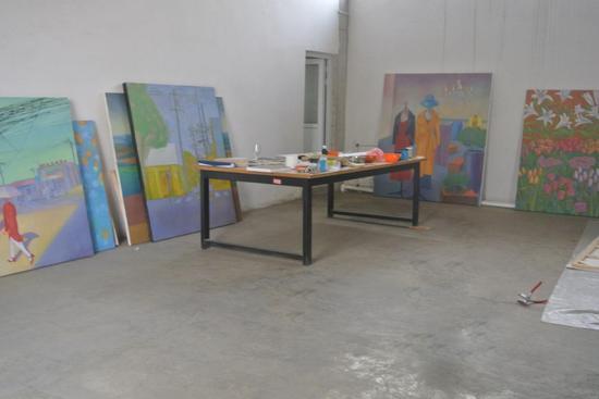 中捷当代美术馆之安东尼创作工作室