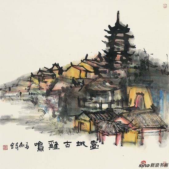 笔上明城画里金陵 书画巡回展