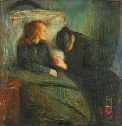 《病孩》:蒙克一生最重要的画作