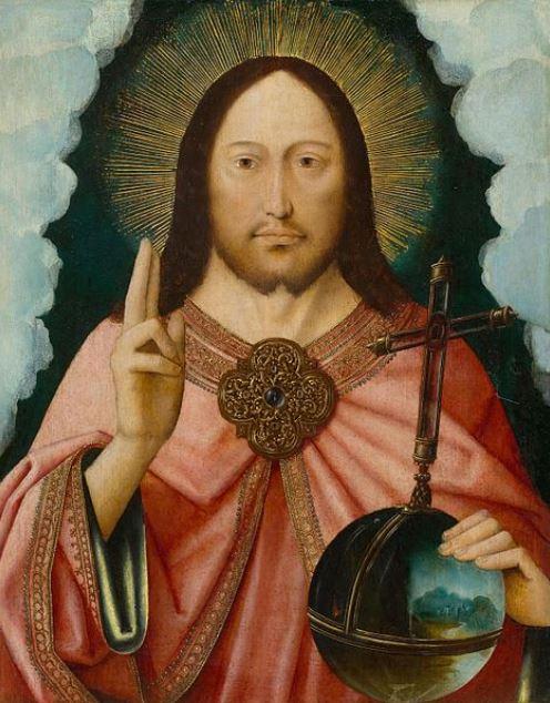 Master of the Mansi Magdalene,《救世主》,1510-1530。图片:Courtesy of Wikimedia Commons