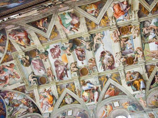 米开朗基罗教堂穹顶画