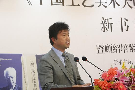 宜兴市人民政府副市长 储红飙 先生致辞