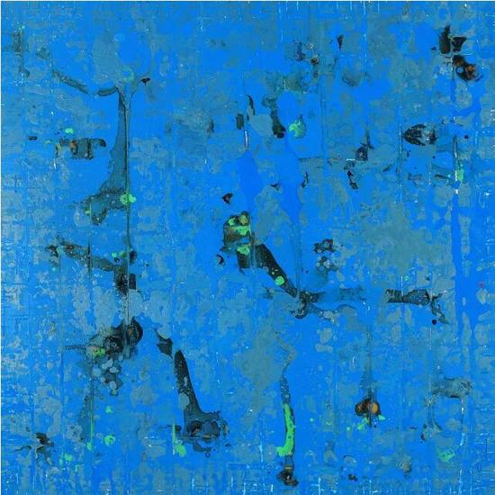 自在(之三) 80×80cm 布面油画 丙烯 2007