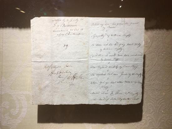 贝多芬创作手稿