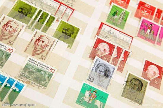 世界最早的邮票实寄封展出