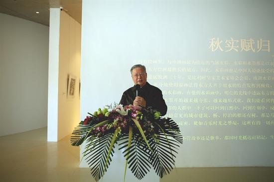 中国前驻欧盟使团大使兼驻比利时大使关呈远致辞